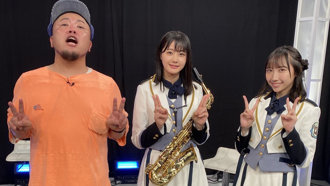 STU48 瀧野由美子&薮下楓、即興での楽曲制作に挑戦! 『せとチャレ!STU48』出演
