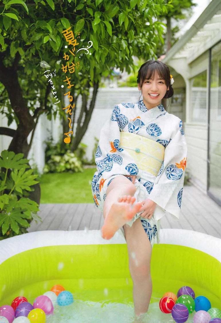 齊藤京子『週刊少年チャンピオン』29号より