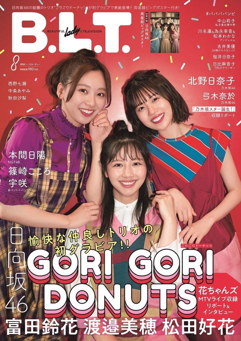 『B.L.T.2021年8月号』(東京ニュース通信社刊)