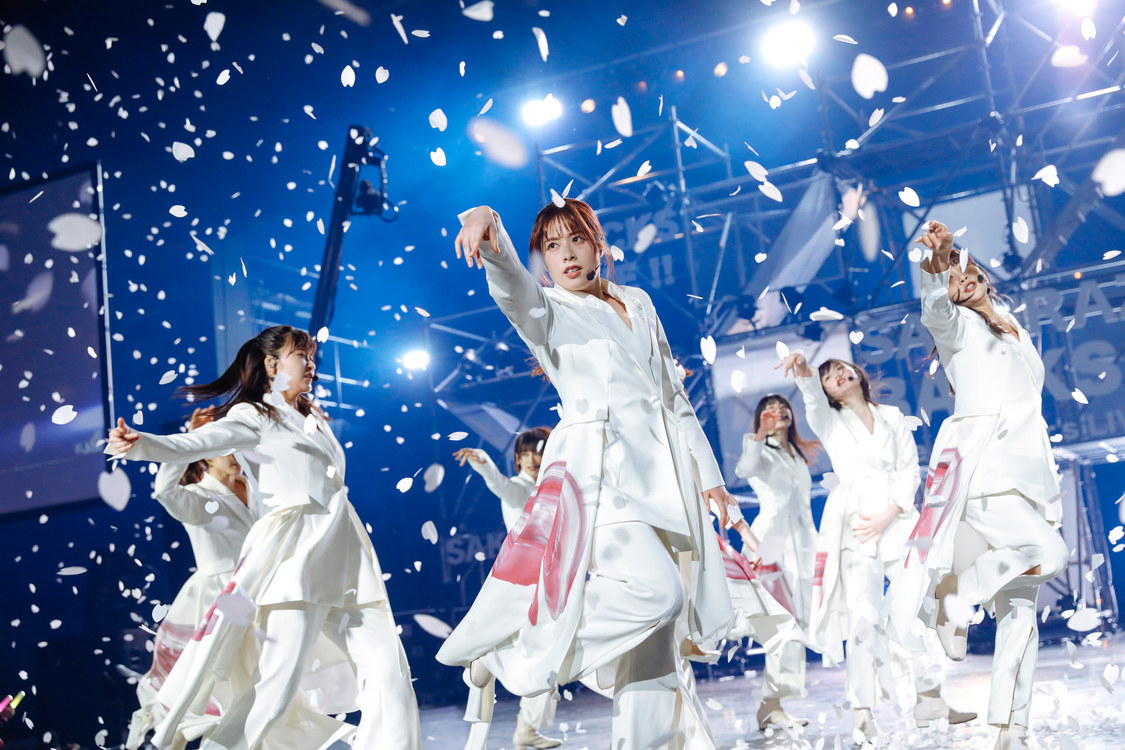 櫻坂46[ライブレポート]フォーメーション3列目メンバーが強き決意と圧巻のパフォーマンスをステージに刻んだ<BACKS LIVE!!>