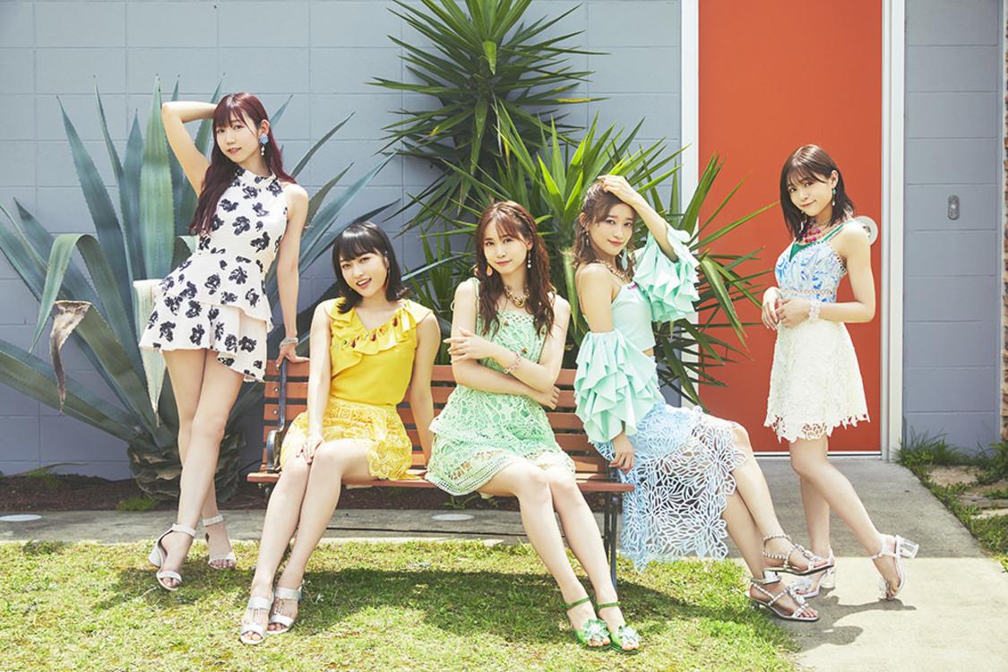 """i☆Ris、5人体制初SG「Summer Dude」発売決定! 「""""女性感""""のあるi☆Risちゃんになりました」"""