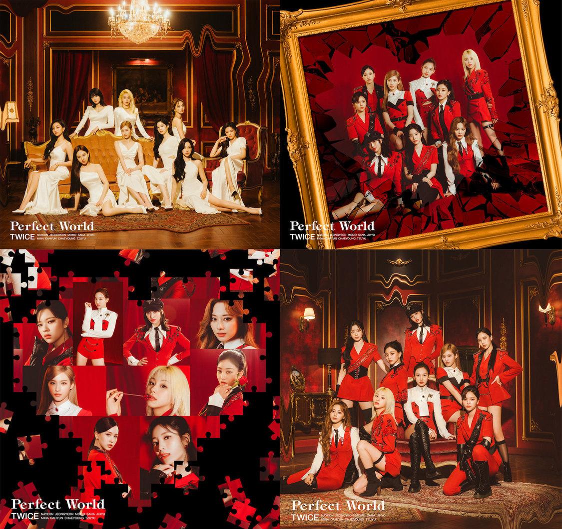 TWICE、JAPAN 3rd AL『Perfect World』ジャケット写真+収録曲解禁!