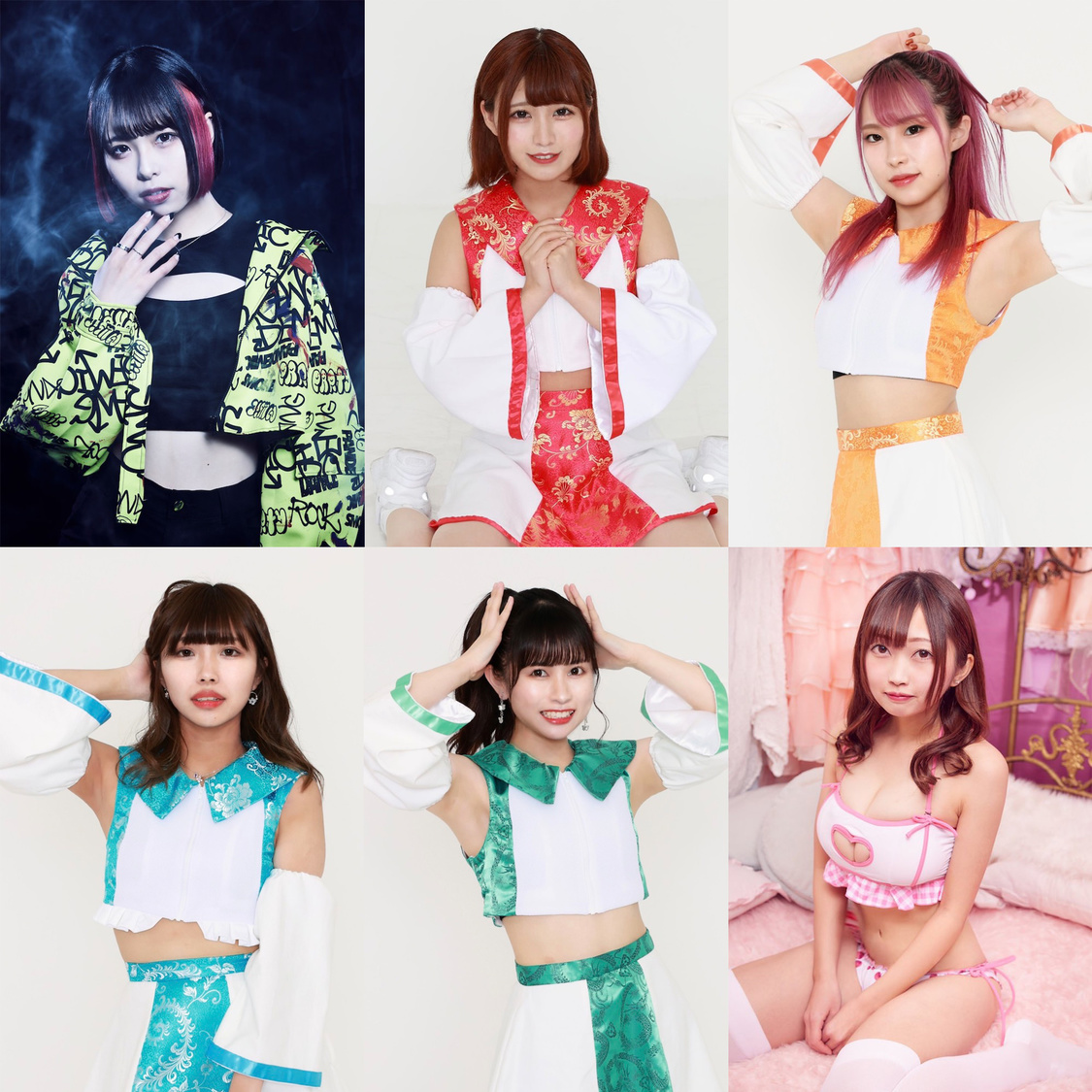 GANGDEMIC&点染テンセイ少女。&レイドロイド、傾奇隊より6名が正式メンバーに昇格!
