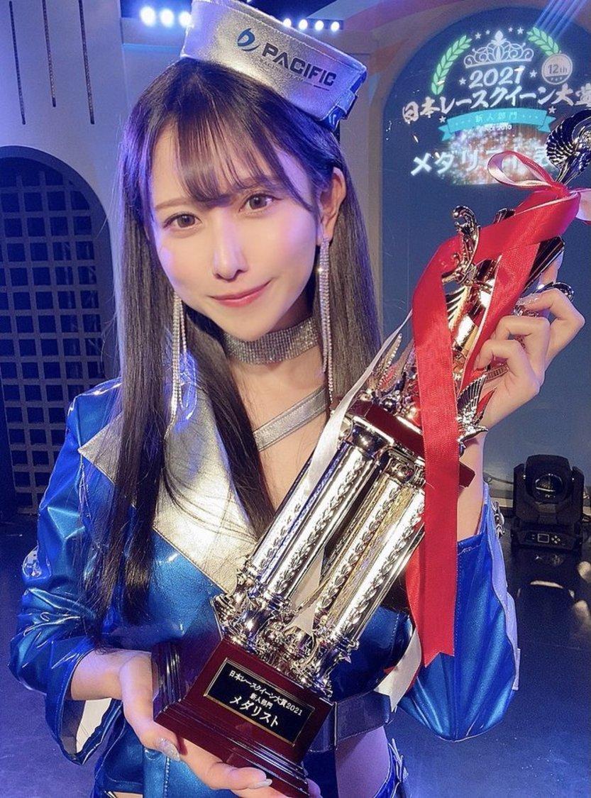 名取くるみ、<日本レースクイーン大賞2021>新人部門メダリストに!「ここからが私の本当のスタートです」