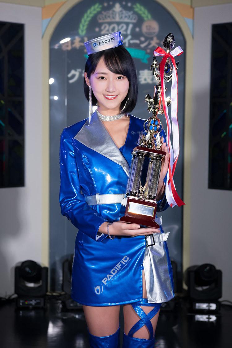 川瀬もえ、<日本レースクイーン大賞2021>新人部門グランプリ獲得!「みなさんのおかげでこの賞を獲ることができました」
