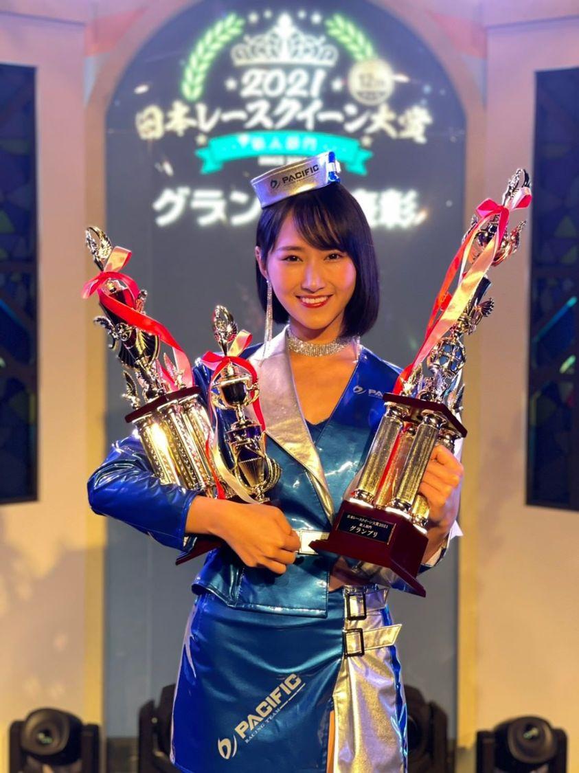 川瀬もえ[インタビュー]日本レースクイーン大賞2021新人部門にてグランプリを含む3冠受賞!「益々活躍の場を広げていきたい」