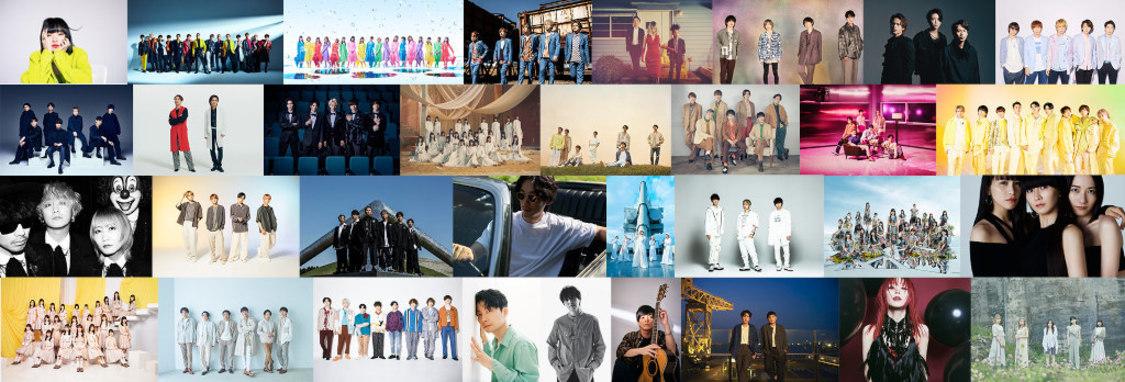 AKB48、乃木坂46、櫻坂46、日向坂46、TBS『音楽の日』出演決定!