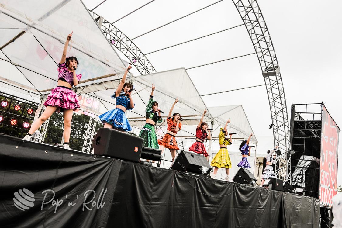 FES☆TIVE[超NATSUZOME2021フォトレポート]雨を打ち負かして圧倒的な一体感を生み出したお祭り系アイドルの矜持