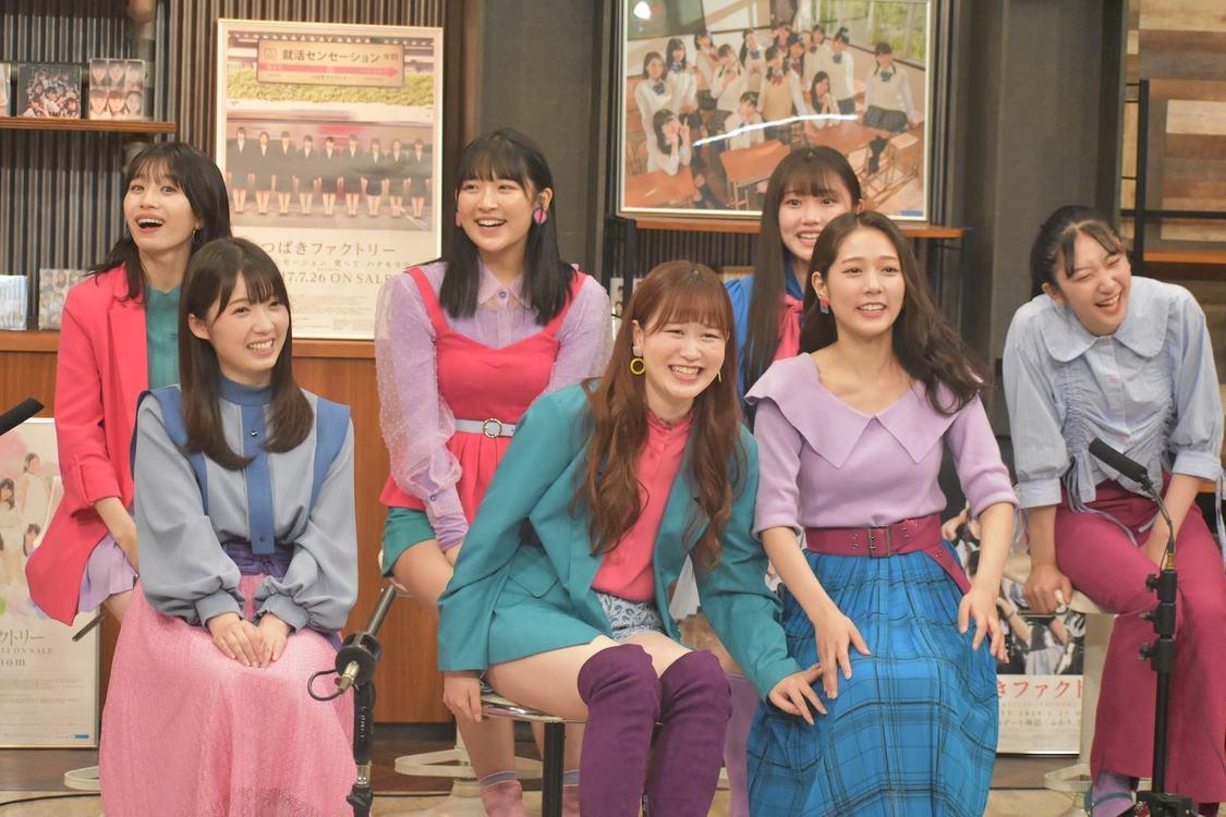 つばきファクトリー、初の冠レギュラーTV番組『行くぜ!つばきファクトリー』スタート!