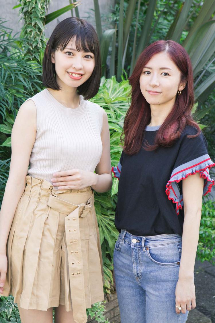 【連載】沖口優奈×槙田紗子(前編)「アイドルのうちから尊敬できる女性を近くに置いておいてあげたい」