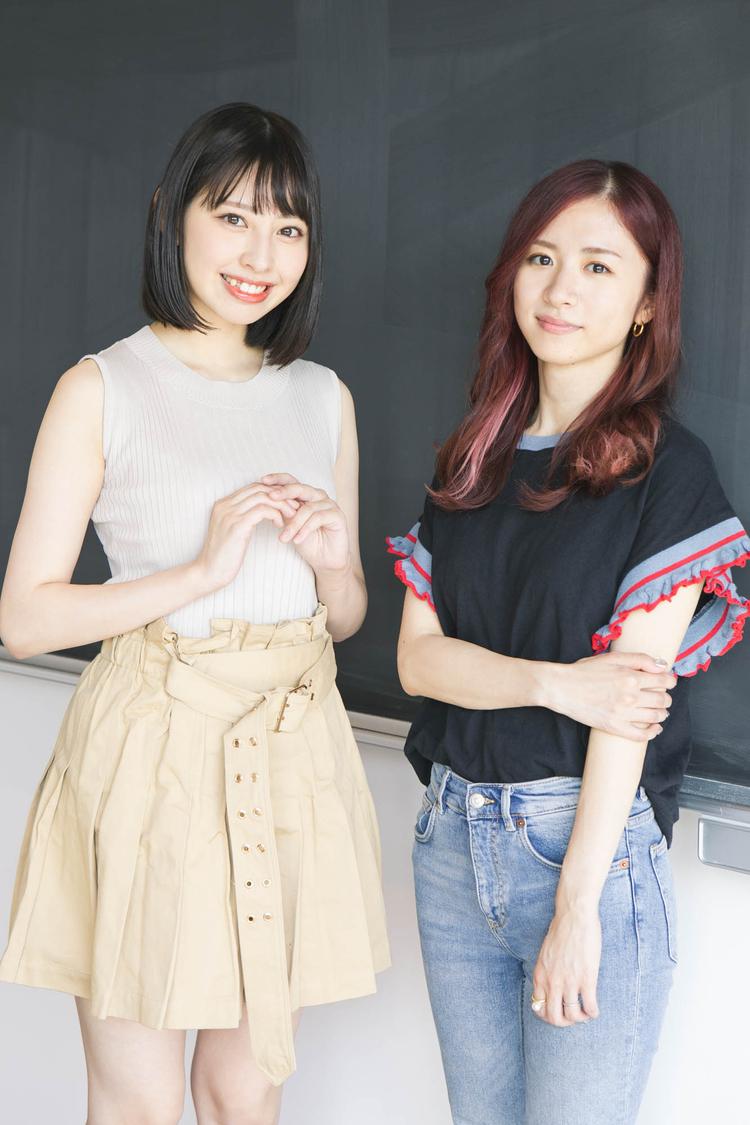 【連載】沖口優奈×槙田紗子(後編)「アイドルって不思議で、なかなか辞められない何かがあるんだなって思います」
