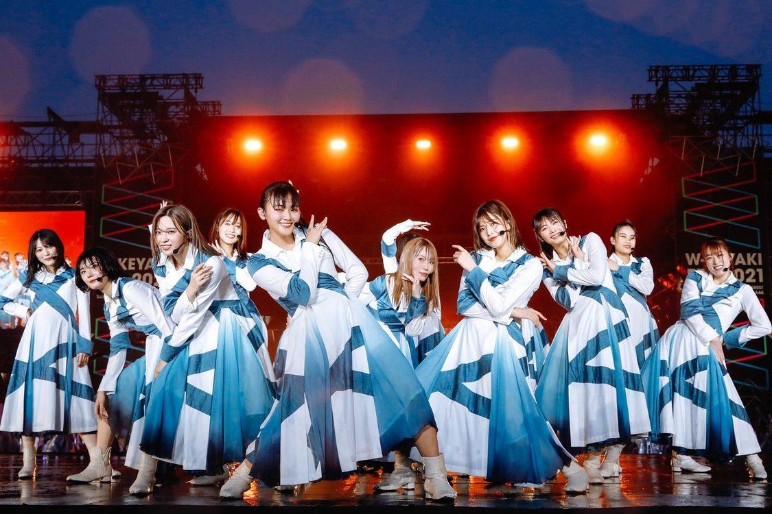 <W-KEYAKI FES.2021>富士急ハイランドコニファーフォレスト(2021年7月9日/撮影:上山陽介)