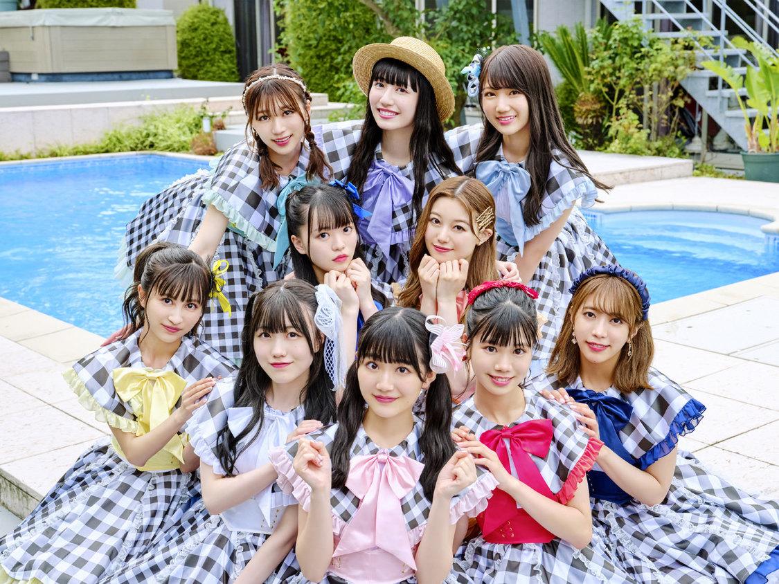 スパガ、水着姿で舞い踊る! 「WELCOME☆夏空ピース!!!!!」MV公開