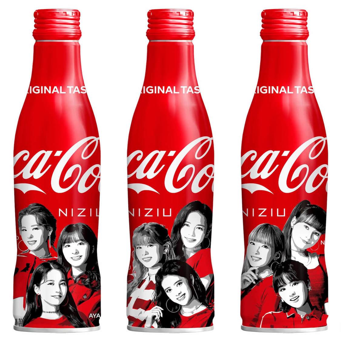 NiziU、『コカ・コーラ』スリムボトルNiziUデザイン発売決定!