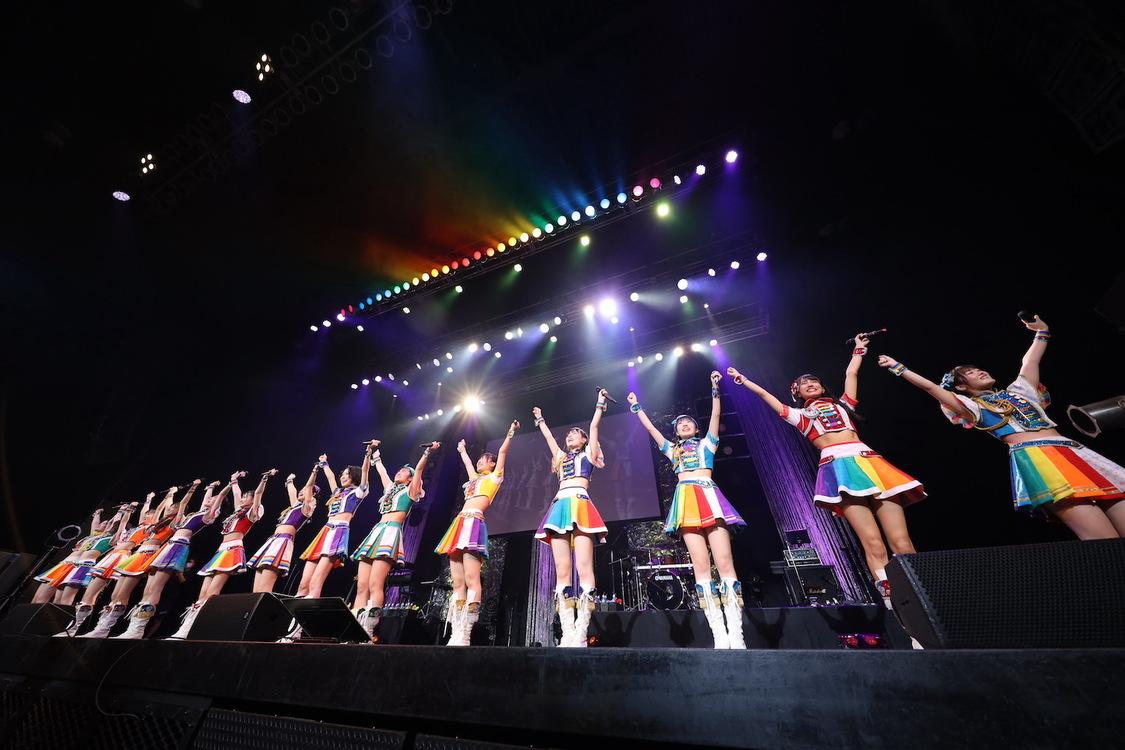 虹コン、結成7周年記念ツアーファイナルで新メンバー加入を発表! 14人新体制を幕開け