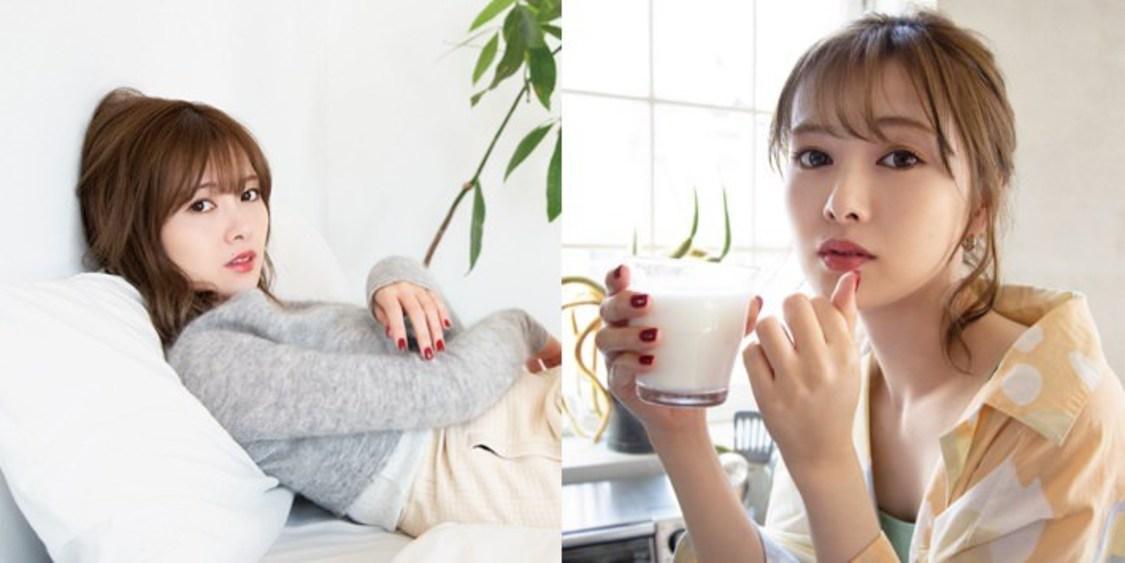白石麻衣、おうち時間をテーマにさまざまな表情を披露! 『feliamo』スペシャルコンテンツ公開