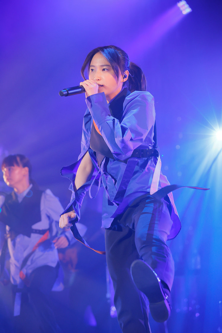 鞘師里保[ライブレポート]復帰後初ライブで涙「みなさんの声が届き続けていたから少しずつ前を向けました」