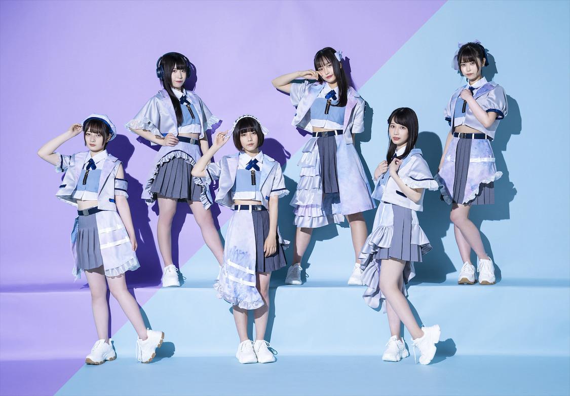 真っ白なキャンバス ライバルグループ『Palette Parade』デビュー! 8/28のTSUTAYA O-nest公演でお披露目