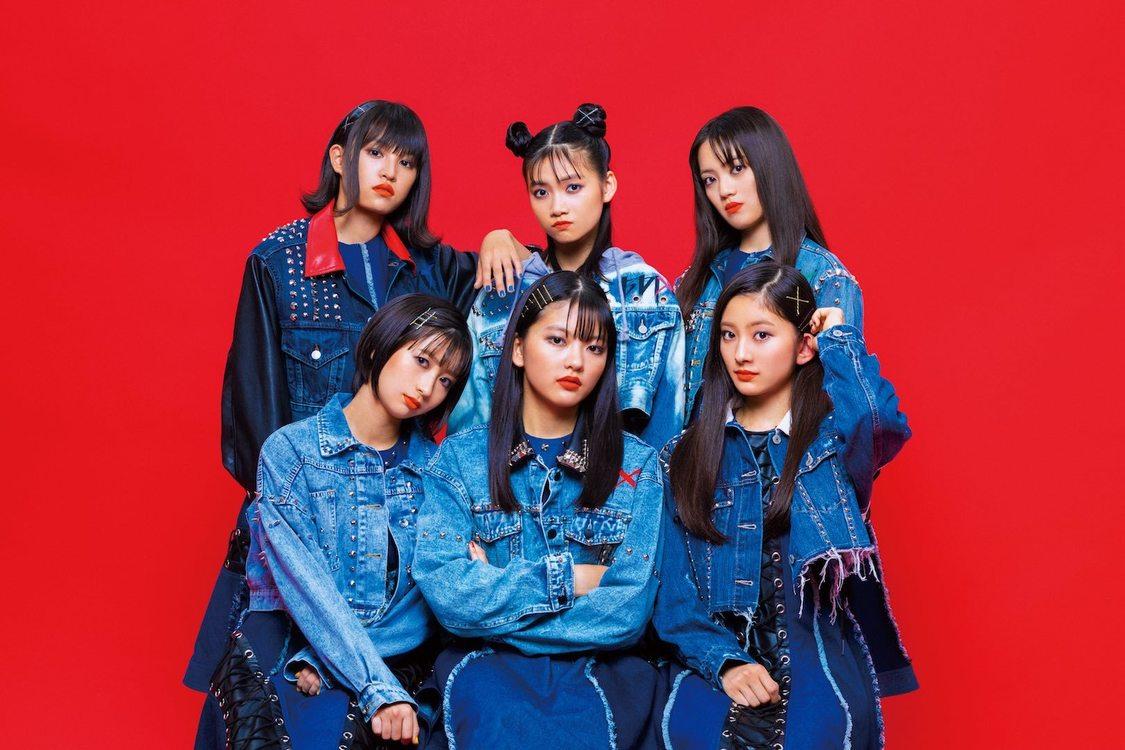 ばってん少女隊、新曲はスピード感のあるロックチューンに。デジタルSG「6STARS」発売決定!