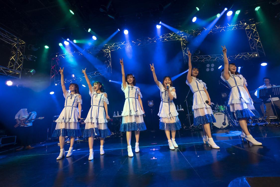 Gran☆Ciel[ライブレポート]バンドとともに多彩なる光景を描いた1stワンマンライブ