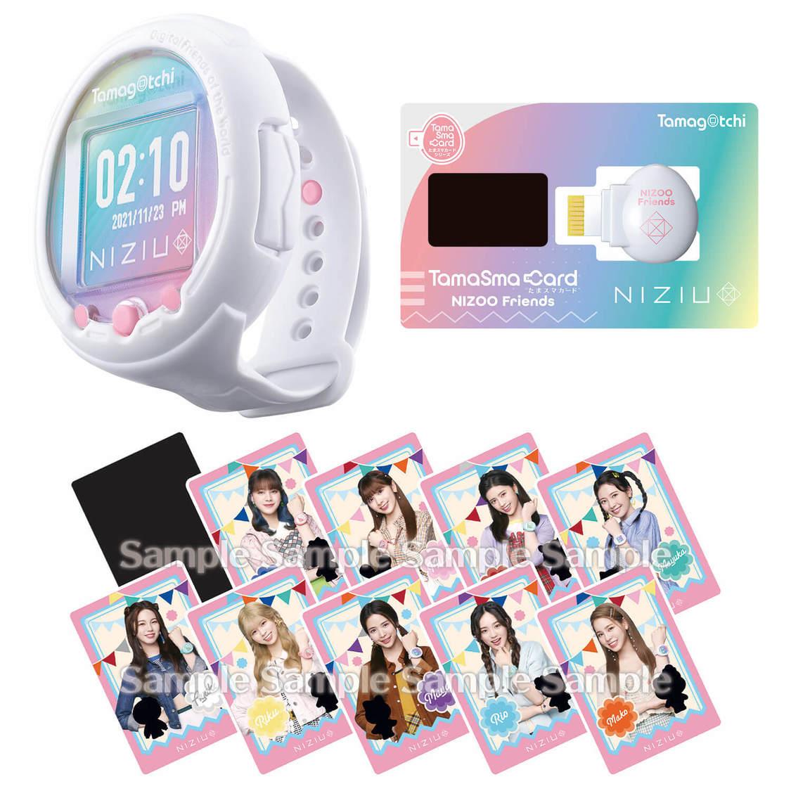 NiziU×たまごっち、コラボ商品『Tamagotchi Smart NiziU スペシャルセット』発売決定!
