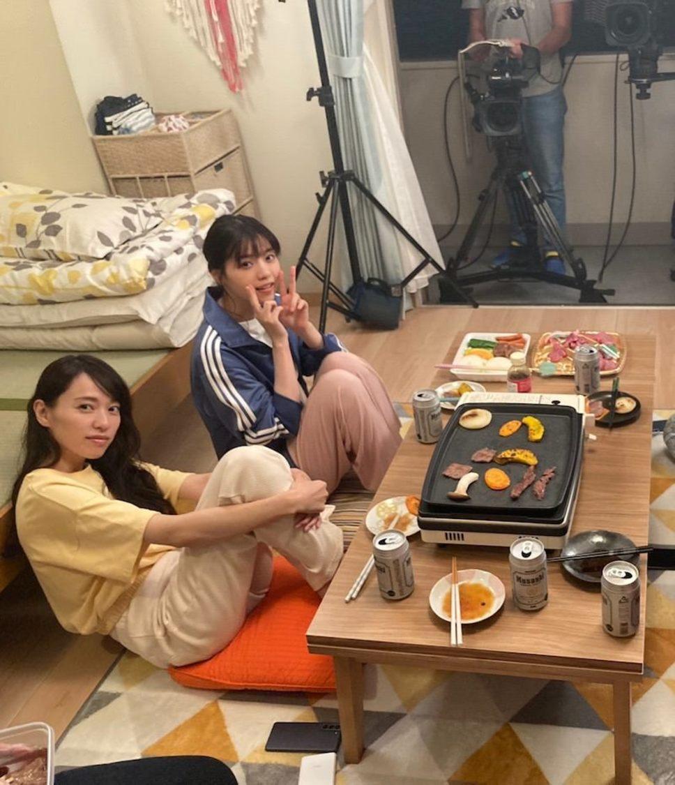 西野七瀬、戸田恵梨香と焼肉会を開催!? ドラマ『ハコヅメ』ブログより