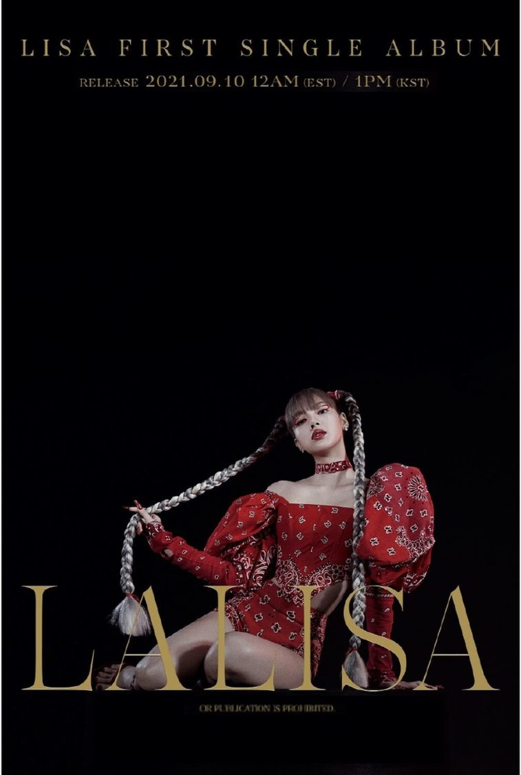 BLACKPINK LISA、初ソロデビューSG「LALISA」発売決定!