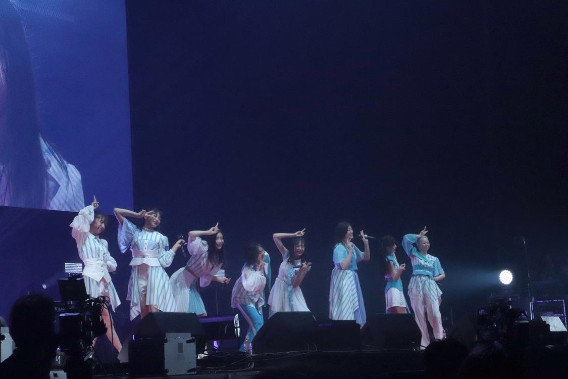 エビ中[ライブレポート]安本彩花、323日ぶりのステージ復帰で「ただいまー!」新メンバーも初パフォーマンス