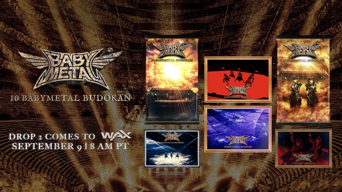 BABYMETAL、新たに限定NFTトレーディングカード『10 BABYMETAL BUDOKAN』発売決定!