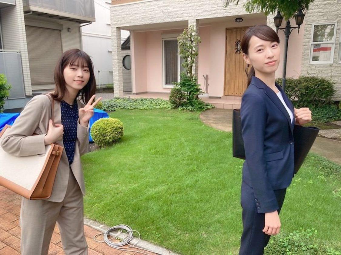 戸田恵梨香&西野七瀬、凛とした2ショットを公開! ドラマ『ハコヅメ』ブログより