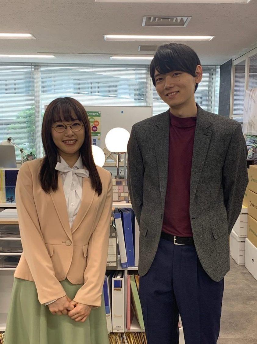 桜井日奈子、古川雄輝とのほんわか2ショットを公開! 『ごほうびごはん』オフィシャルブログより