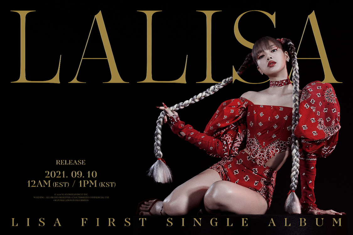 BLACKPINK LISA、生ライブパフォーマンス『OUT NOW unlimited LALISA』日韓同時配信決定!
