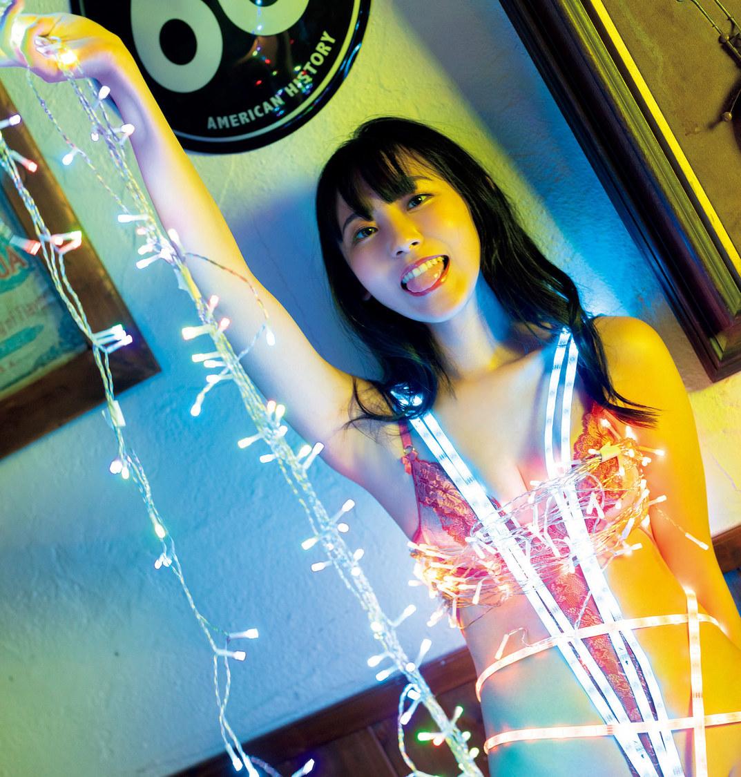 林田百加(©光文社/週刊『FLASH』 撮影:木村哲夫)