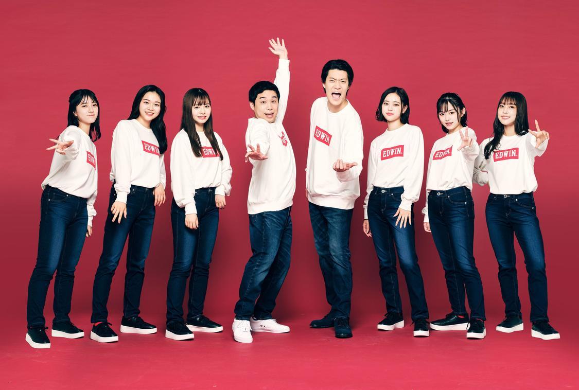 Shibu3 project、霜降り明星とダンス! 「せいやさんがグループのリーダーのように励ましてくれて」EDWIN ジャージーズ新CM出演決定