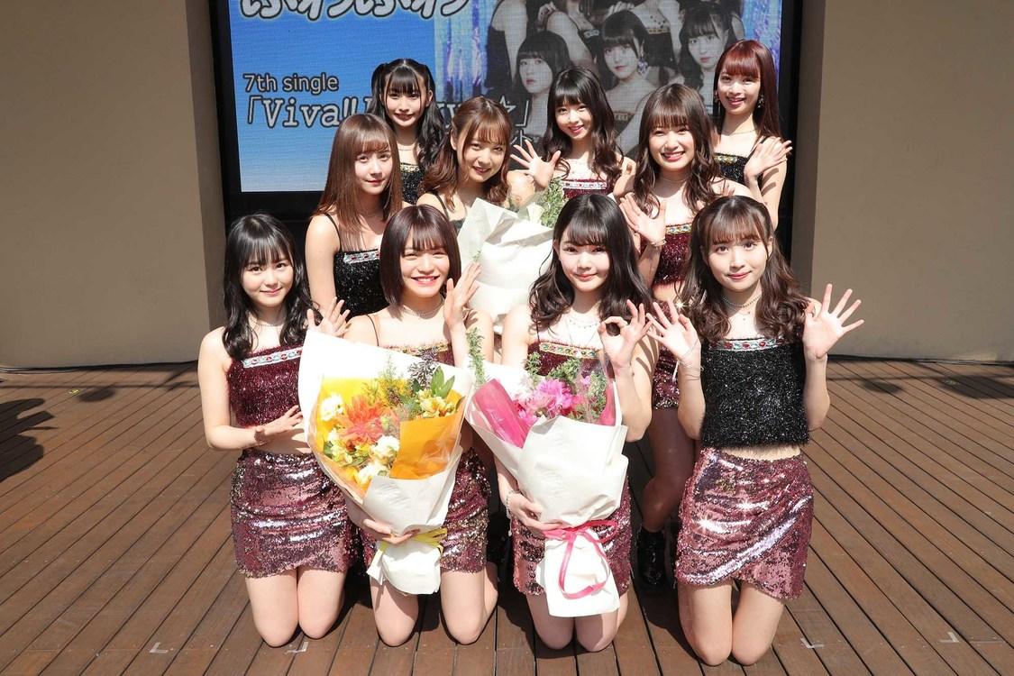 ふわふわ、美少女から美女へ成長した姿で魅せる! 7th SG「Viva!! Lucky4☆」発売記念イベント