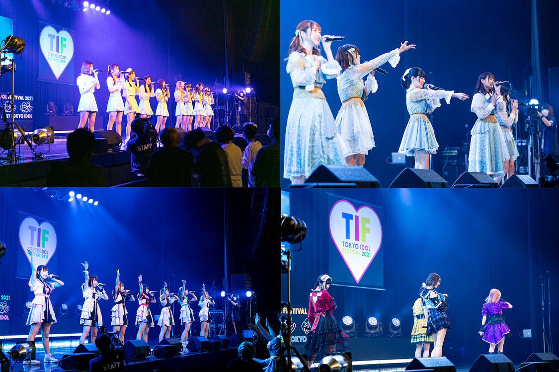 JamsCollection、群青の世界、STAiNY、アンスリューム[<TIF2021メインステージ争奪LIVE> WINNERステージレポート]4組が夢の舞台に立った多幸感あふれるシーン