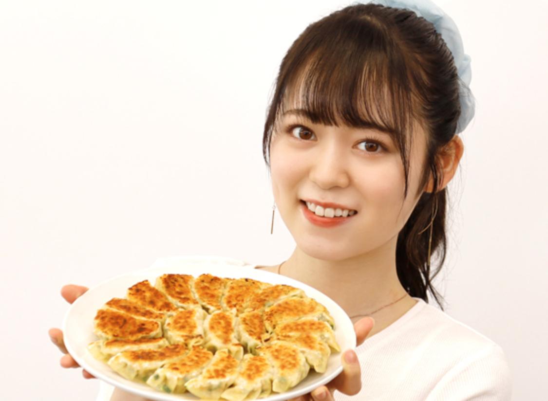AKB48 西川怜、オリジナル餃子づくり&神つけダレを開発「餃子がもっと好きになりました!」