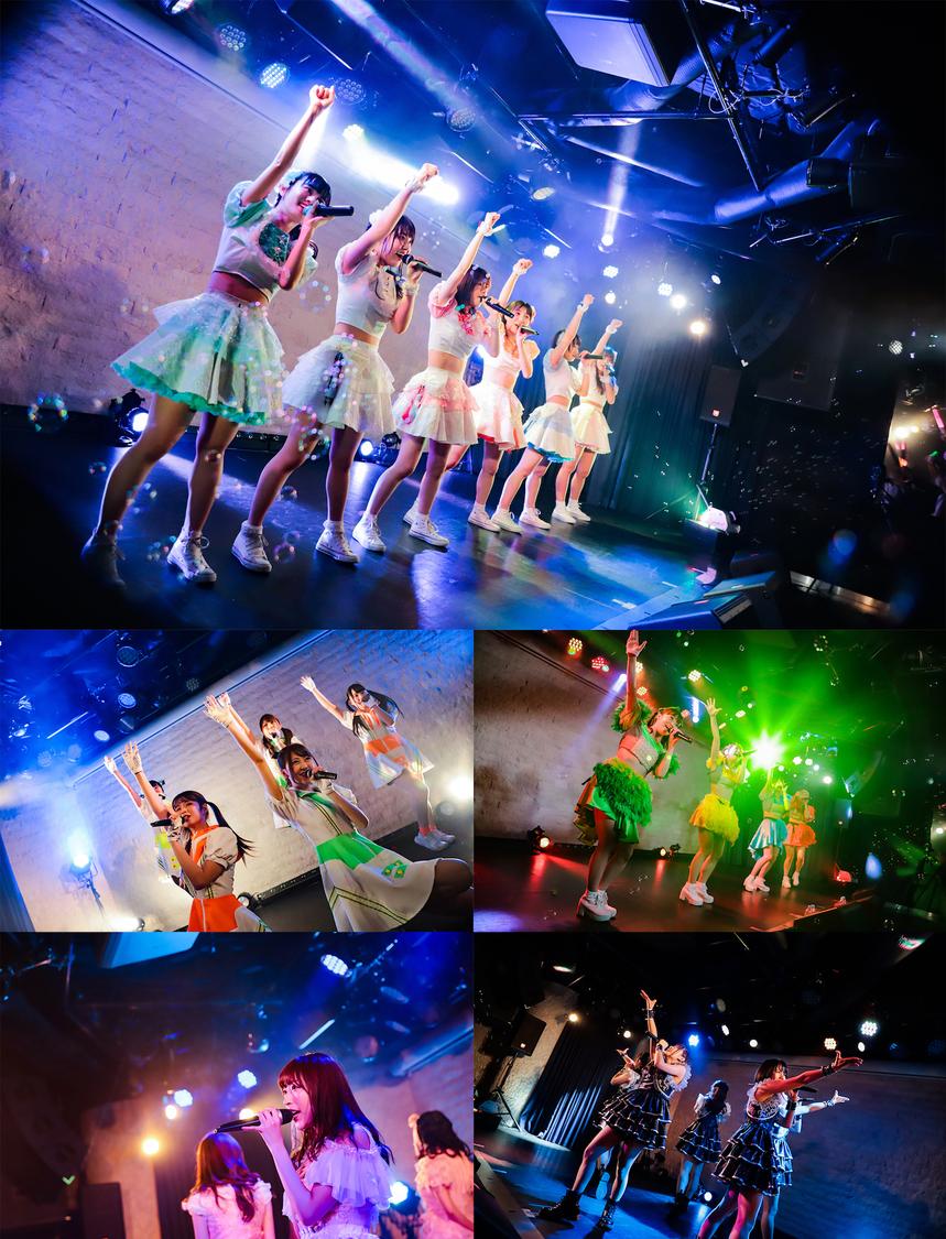 【ライブレポート/写真241点】<ぽぷろないと vol.6>FES☆TIVE、われプワ、桃レボ、Yamakatsu、メリメリらとハッピーに乾杯!