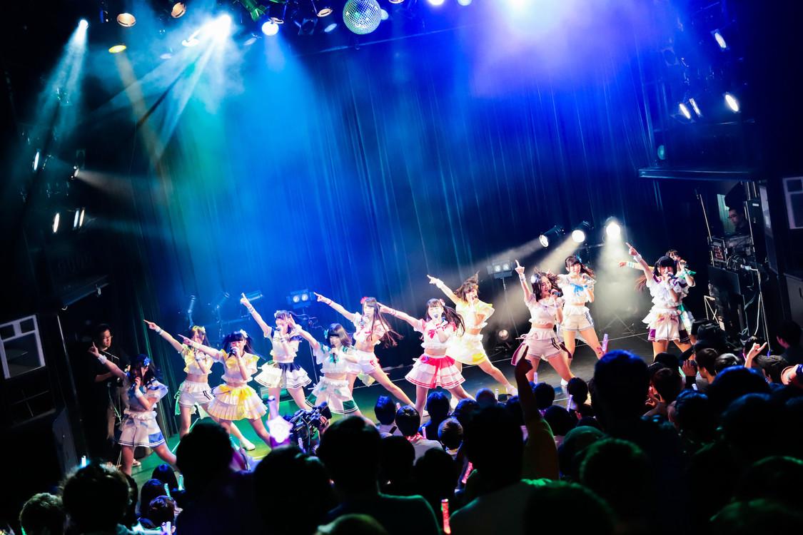 【ライブレポート】虹コン、新曲披露で夏に向けてスタートダッシュ「虹コンにとっては今日から夏なんです」