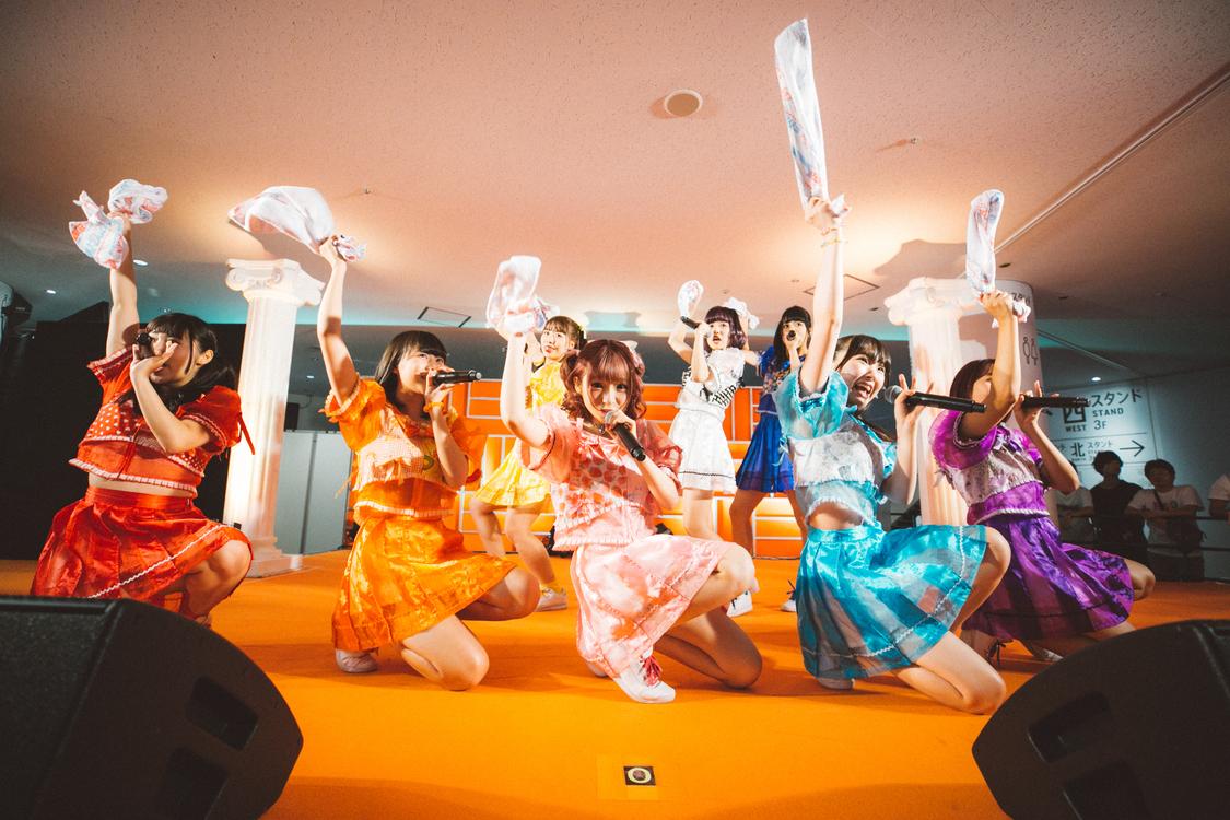 <@JAM EXPO 2018>8月25日「Chu☆Oh!Dolly」オレンジステージ