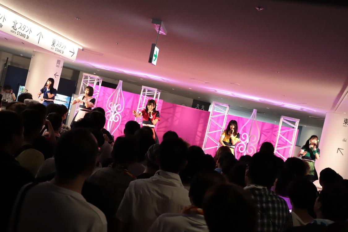<@JAM EXPO 2018>8月26日「神宿」ピーチステージ