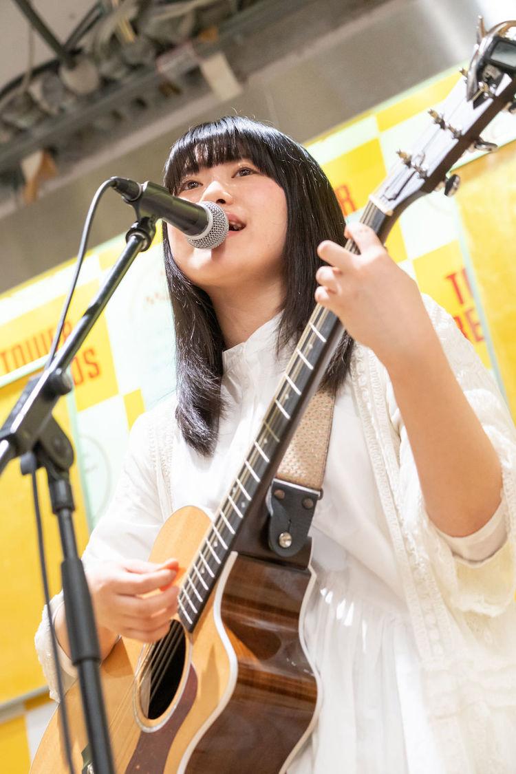 原田珠々華、1stミニAL発売記念イベント開催「みなさんに支えられてリリースできました」