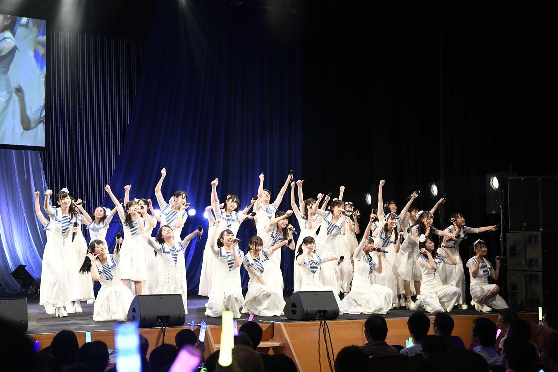STU48、チャリティー東京公演で「瀬戸内の方たちはもちろん、全国のみなさんに勇気や笑顔を届けられたらいいな」