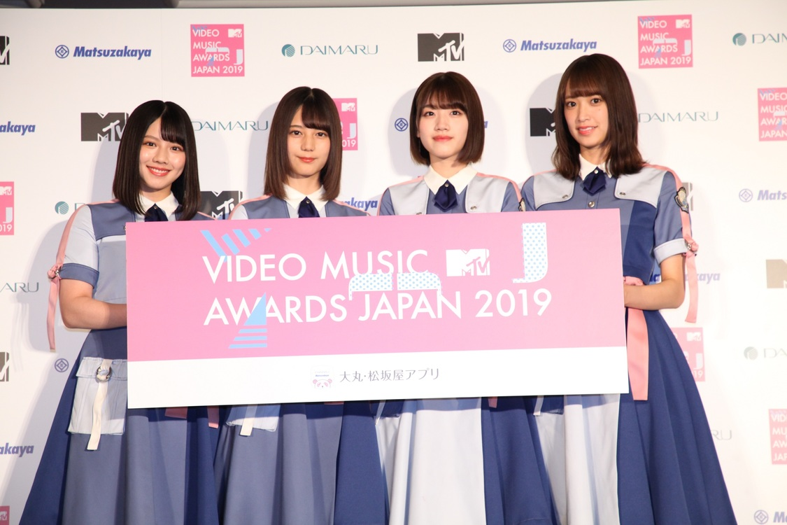 日向坂46、新木場開催<MTV VMAJ 2019-THE LIVE->MCに抜擢!