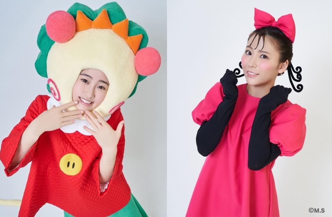 向井葉月(乃木坂46)&宮崎理奈(元SUPER☆GiRLS)、舞台<コジコジ>ビジュアル解禁!