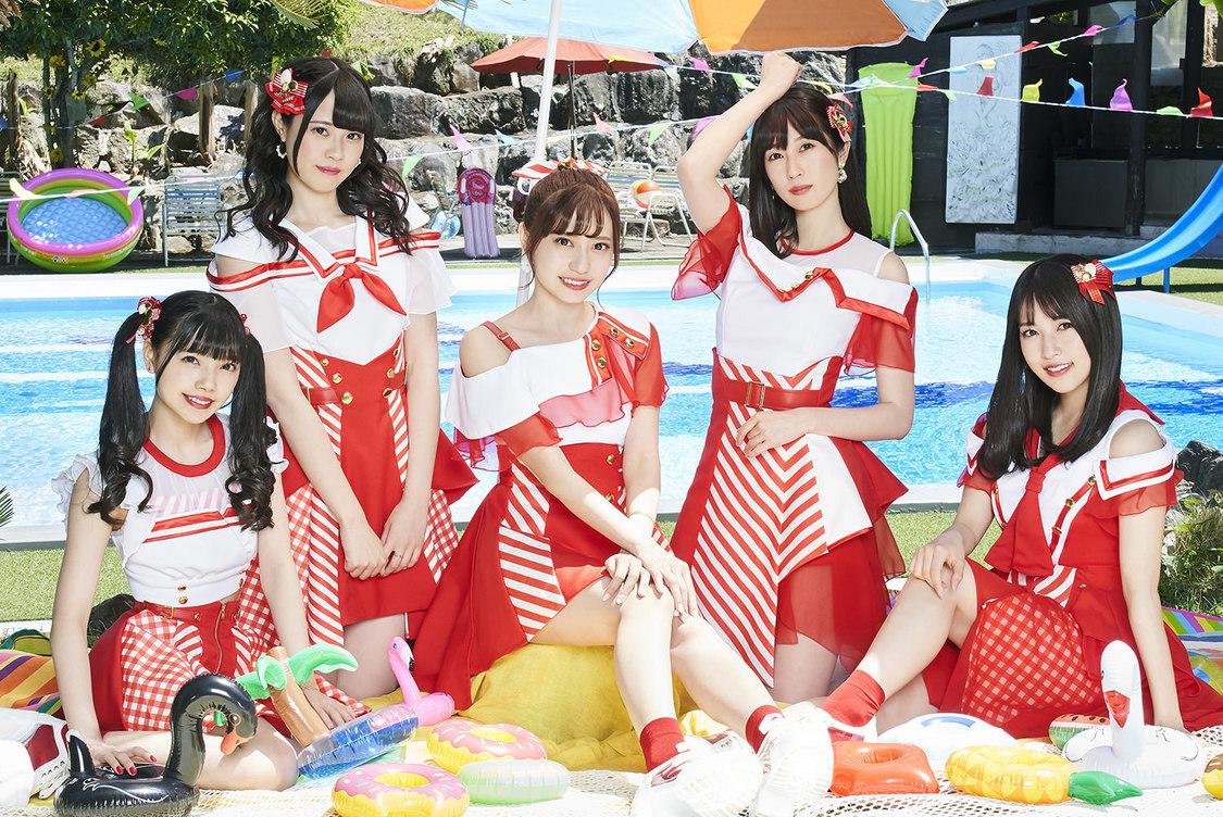 Ange☆Reve、「サマ☆ラブ」がオリコンウィークリーチャート4位&タワーレコードアイドルチャート1位獲得!