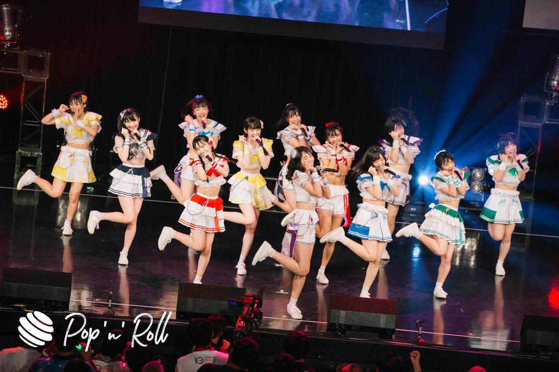 【TIFフォトレポート】虹のコンキスタドール、8/4 HOT STAGE(14:20-)