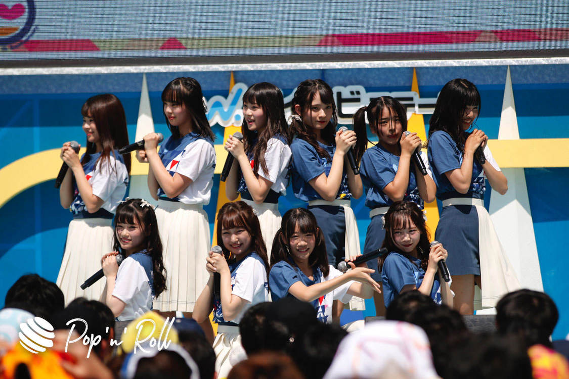 【TIFフォトレポート】ラストアイドル2期生、8/4 DREAM STAGE(13:15-)