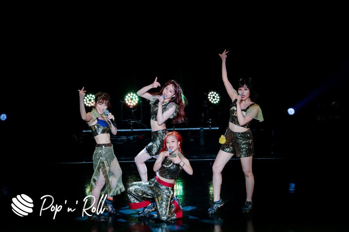 【TIFフォトレポート】フィロソフィーのダンス、8/3 HOT STAGE(16:30-)