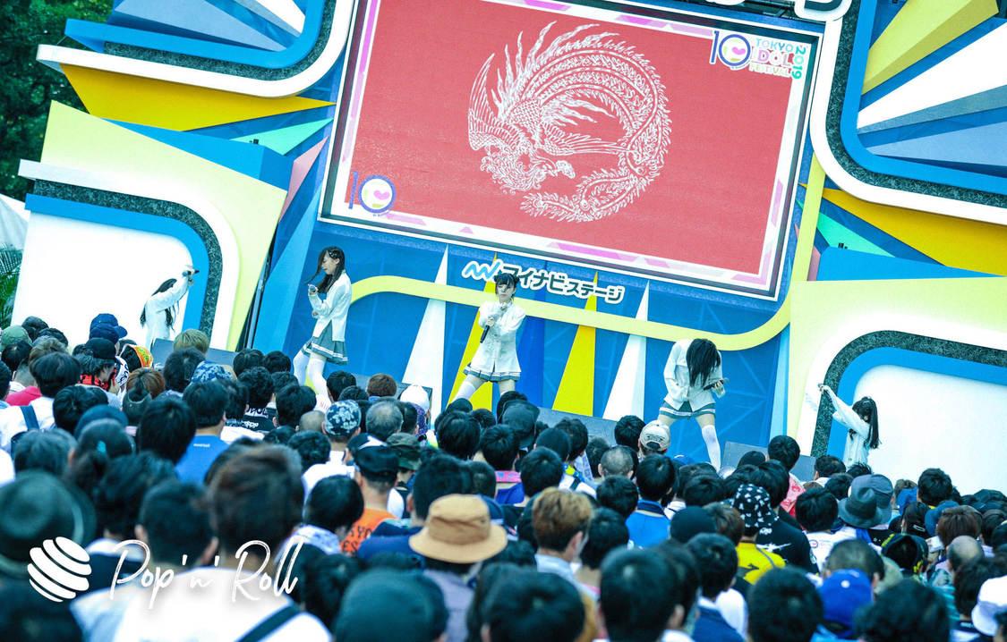 【TIFフォトレポート】鶯籠、8/3 DREAM STAGE(10:40-)